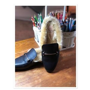 😎 A New Day Faux Fur Mules😎
